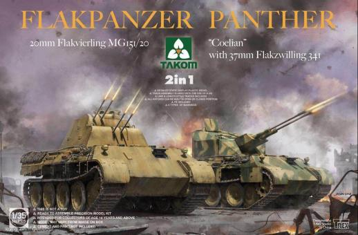 Flakpanzer Panther 2in1