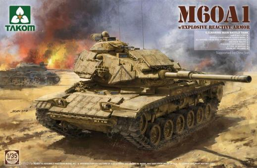 M60A1 with Explosive Reactive Armour