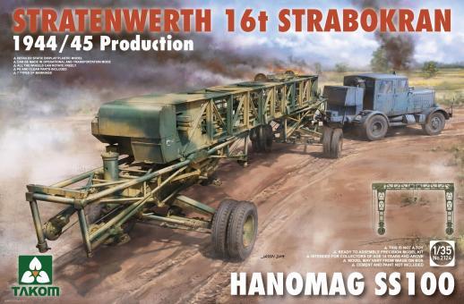 Stratenwerth 16t Strabokran - 1944/45 Production