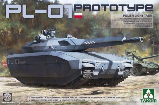Polish PL-01 Prototype Light Tank