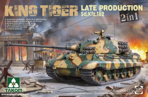 King Tiger Late - 2in1