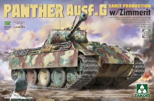 Panther Ausf.G Early Production with Zimmerit