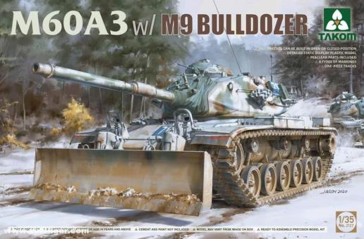 M60A3 with M9 Bulldozer