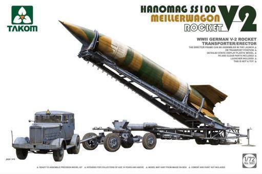 Hanomag SS100 with Meilerwagen and V2 Rakete