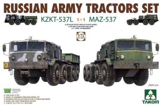 Zugmaschinen KZKT-537L & MAZ-537
