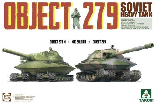 Object 279 + Object 279M + Soldat mit Schutzanzug