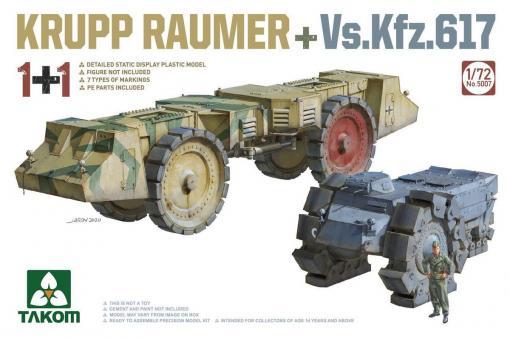 Krupp Räumer + Vs.Kfz.617
