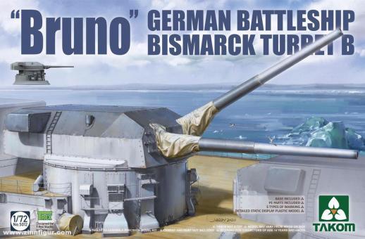 """""""Bruno"""" German Battleship Bismarck Turret B"""