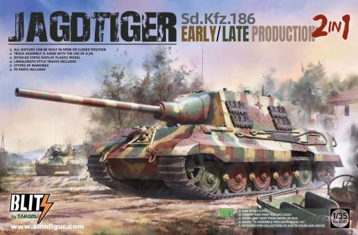 Sd.Kfz.186 Jagdtiger Early/Late Production