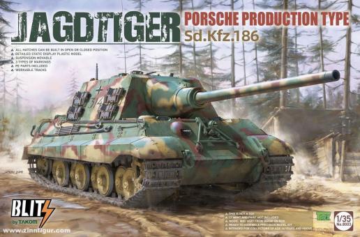 Sd.Kfz.186 Jagdtiger - Porsche Production