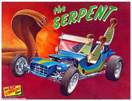 """""""The Serpent"""" Show Rod"""