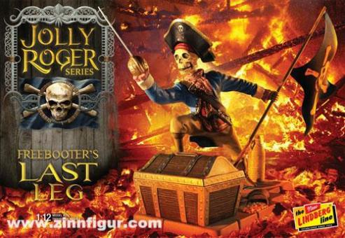 "Piratenskelett ""Freebooter's Last Leg"" - Jolly Roger Series"