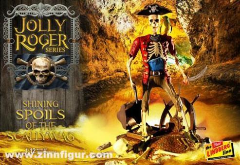 "Piratenskelett ""Shining Spoils of the Scallywag"" - Jolly Roger Series"