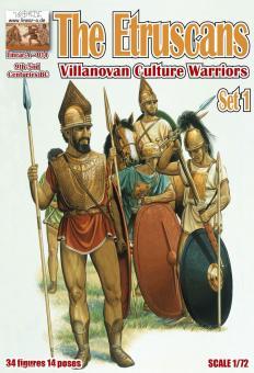 "Etrusker ""Villanova Kultur Krieger"" - 9.-5. Jh.v.Chr."