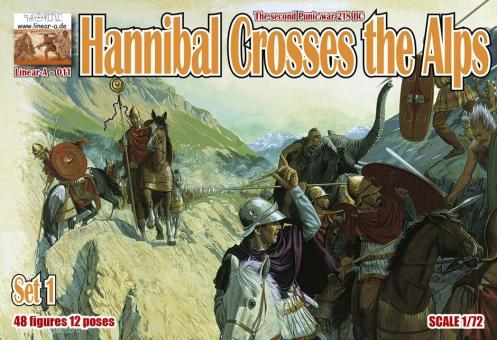 Hannibal überquert die Alpen - Teil 1