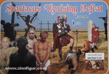 Spartacus-Aufstand - Die Niederlage