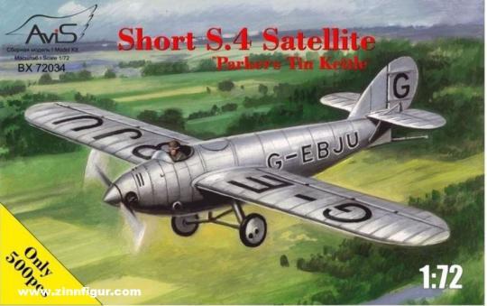 "Short S.4 Satellite ""Parkers Tin Kettle"""