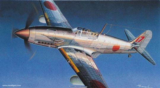 IJA Kawasaki Type 3 Ki-61-II