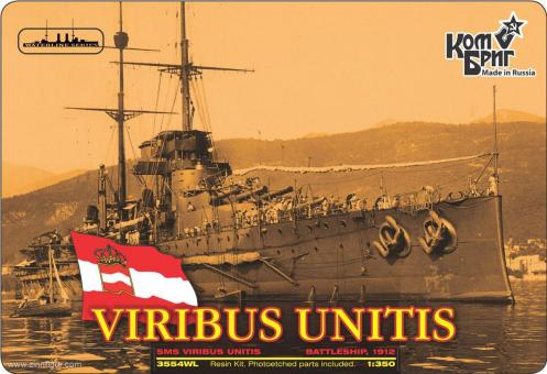Schlachtschiff SMS Viribus Unitis - 1912