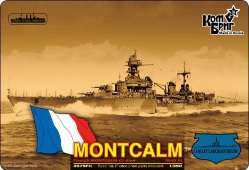 Französischer Kreuzer Montcalm - 1940