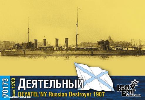 Zerstörer Deyatel'ny - 1907