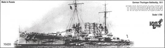 Schlachtschiff SMS Thüringen - 1911