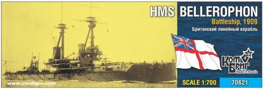 Schlachtschiff HMS Bellerophon - 1909