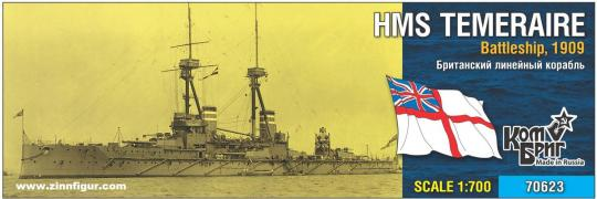 Schlachtschiff HMS Temeraire - 1909