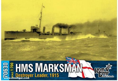 Flottillenführer HMS Marksman - 1915