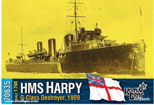 HMS Harpy G-Class Zerstörer - 1909