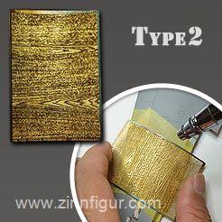Ho 229 Wood Grain Photo-Etched Mask Wood Veins Pattern