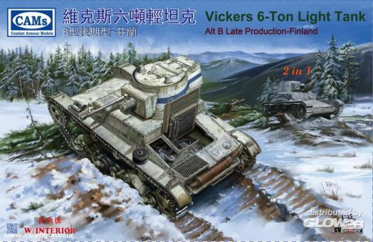 Vickers 6-ton Leichter Panzer Alt B späte Produktion
