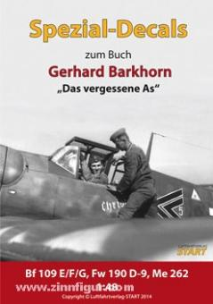 """Special Decals """"Gerhard Barkhorn"""""""