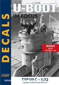 """Decals VII C """"U-Boot im Focus Edition 2-11"""""""