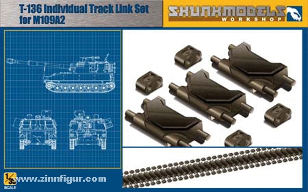 T-136 Track Link Set for M109A2