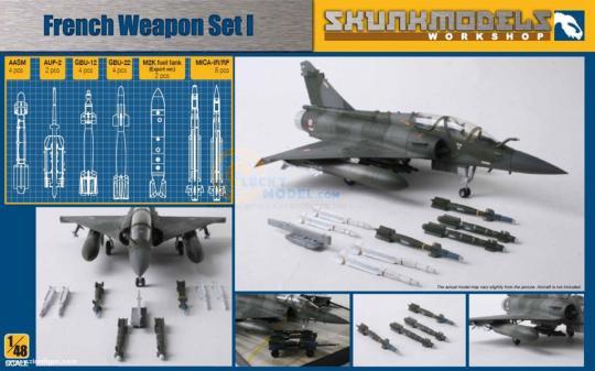 Französische Waffen Set 1