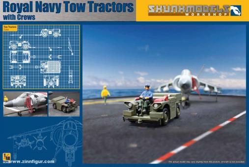 Royal Navy Tow Tractors mit Figuren