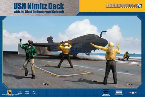 USS Nimitz Flugdeck Sockel