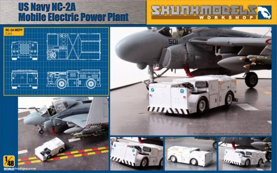 US Navy NC-2A Mobile Electric Power Plant