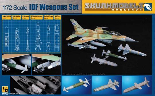 IDF Weapons Set