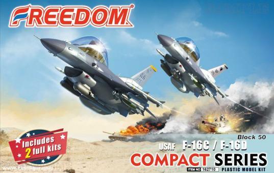 "F-16C/D Block 50 ""USAF"" - Compact Series"