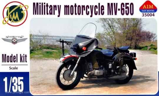 Military Motorcycle MV-650