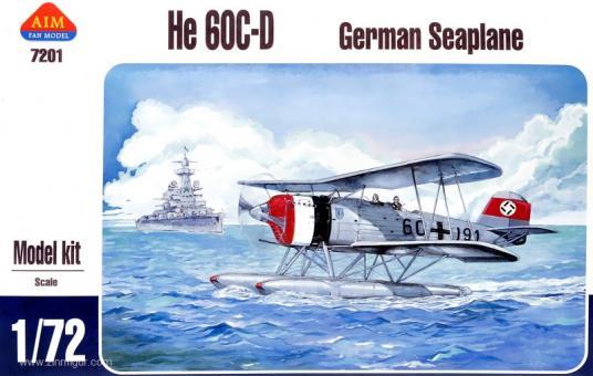 He 60C/D Wasserflugzeug