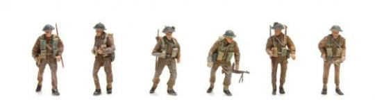 Britische Infanteristen