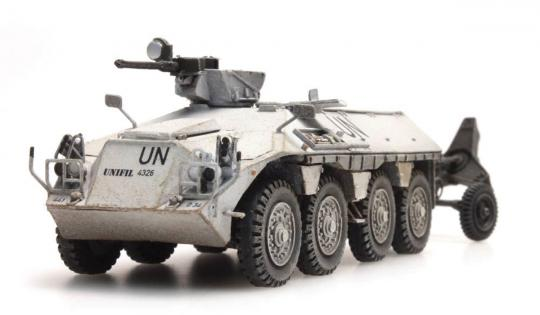 DAF YP408 UNIFIL mit 120 mm Mörser