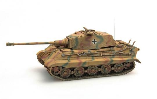 Tiger II (Henschel) Zimmerit - Tarnung