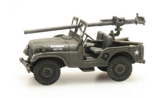 US M38 Jeep mit 106 mm AT Gun