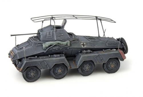 Sd.Kfz. 232 Funkwagen - grau