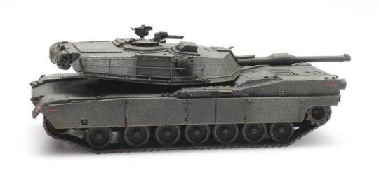 M1 Abrams - grün - Eisenbahntransport