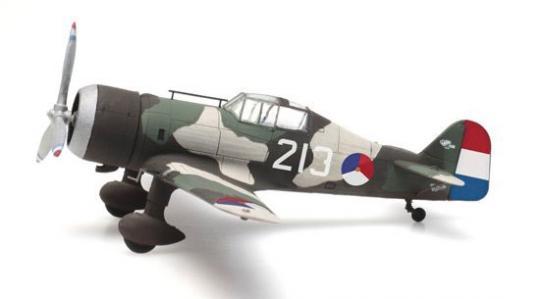 """Fokker D.XXI 213  Flugzeugkokarde """"Rozetten"""""""